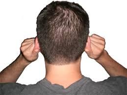 massaging ears